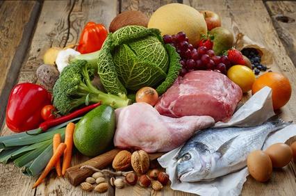 Paleo-Lebensmittel