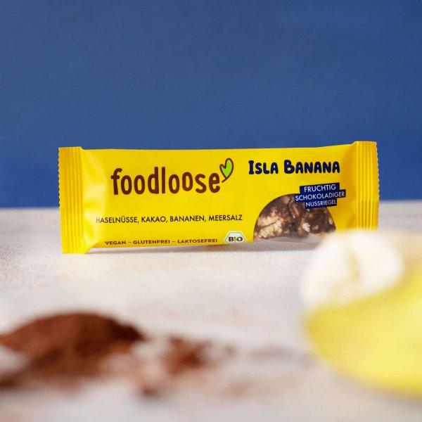 Isla Banana Bio-Nussriegel