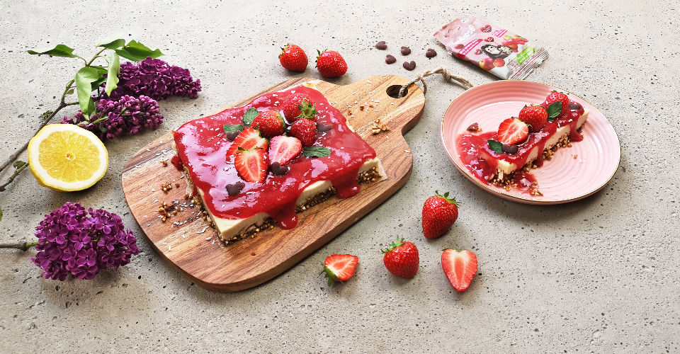 Strawberry-Cheesecake-vegan