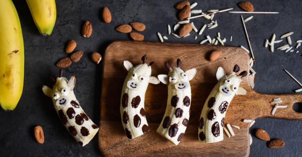 Bananen-Giraffen