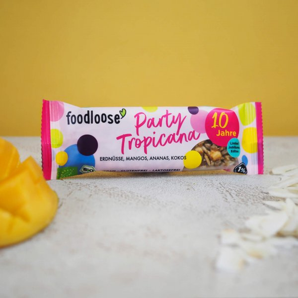 Party Tropicana Organic Nut Bar