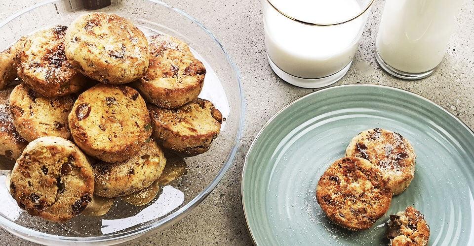 Dattel-Pistazien-Kekse